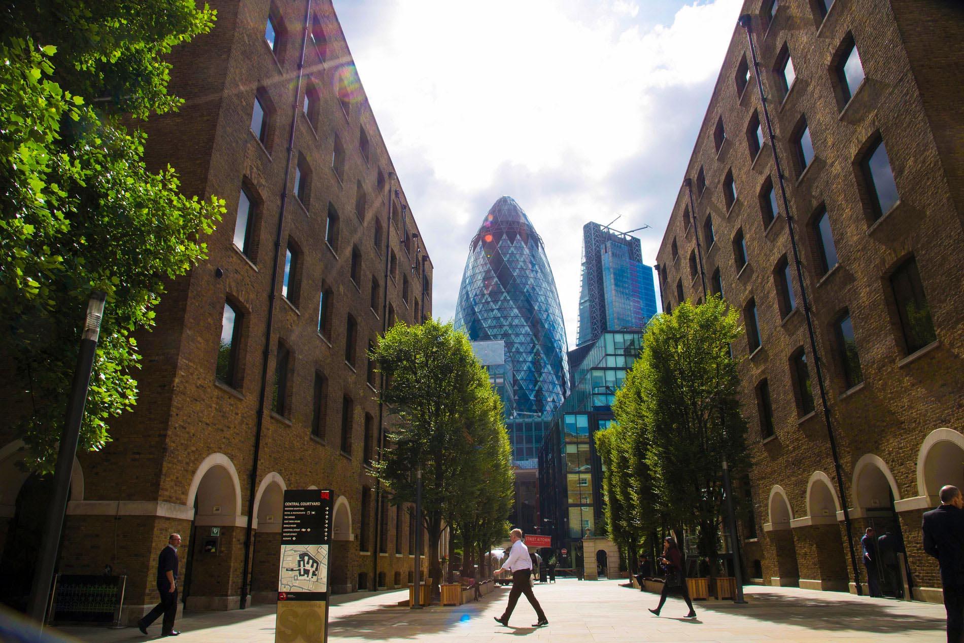 Paysage de Londres